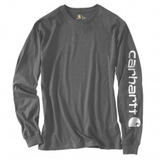 לצפייה במוצר CARHARTT LONG SLEEVE CHARCOAL